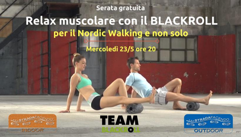 Relax muscolare con il BlackRoll