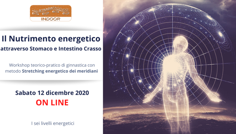 Il Nutrimento energetico attraverso Stomaco e Intestino crasso | Stretching [workshop]